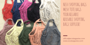 Mesh shopping bags supplier